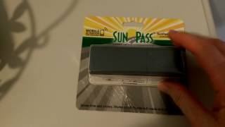 Rental Car Prepaid SunPass Florida Tolls 2017