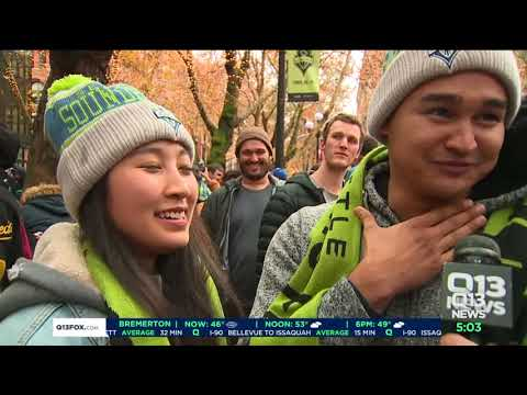 Sounders victory parade across downtown Seattle coming Tuesday