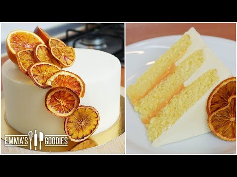 Orange Creamsicle Cake – Super Fluffy Orange Cake Recipe