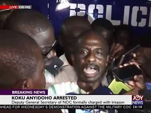 Koku Anyidoho charged with treason - Joy News Prime (27-3-1)8