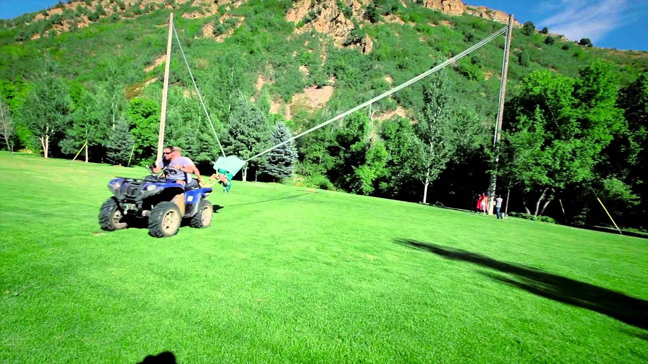 Human Slingshots Are Probably The Most Fun You Can Have On Land