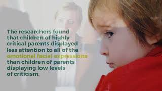 Video: Parental Criticism Impacts How Children's Brains Respond to Emotional Information. Neuroscien