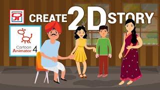 Cartoon Animator 4   Crazy Talk 3   Professional 2D Animation   Introduction in Hindi