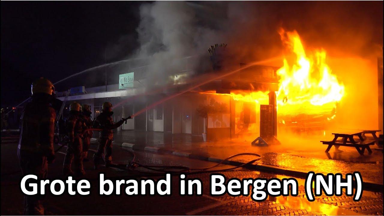 21-07-2021 Bergen NH – brand