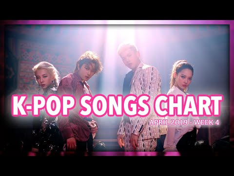 K-POP SONGS CHART | APRIL 2019 (WEEK 4)