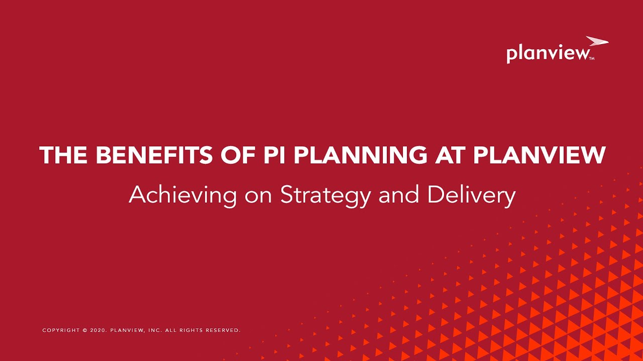 Video: The Benefits of PI Planning at Planview - Team Members Tell All