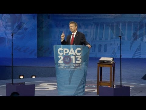 CPAC: Rand Paul, Libertarians Rising