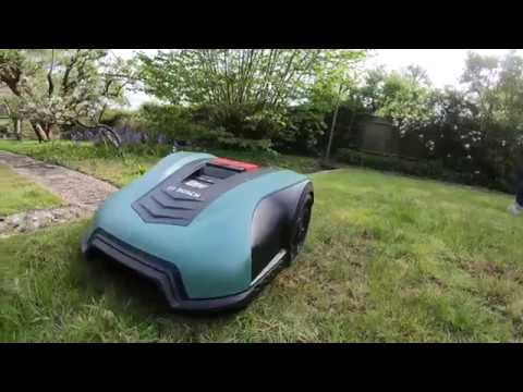 Bosch Indego Robot Lawn Mower S+ 350 Installation and use