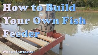 How to Build a Pond Fish Feeder