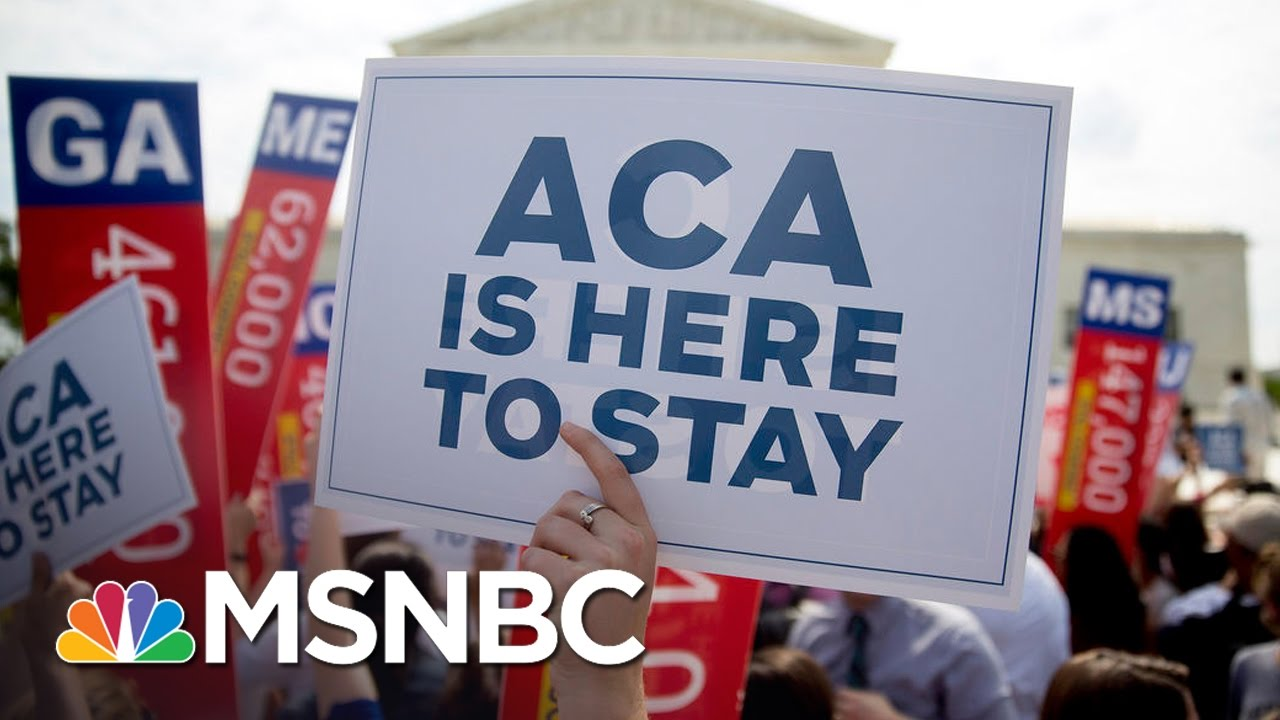 President Obama Defends Obamacare, Meets With Democrats | MSNBC thumbnail