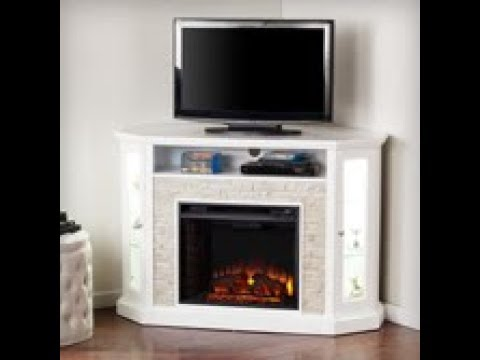 FE9393: Redden Corner Convertible Electric Media Fireplace Assembly Video