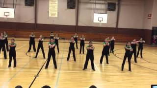 Dragonette competition military routine