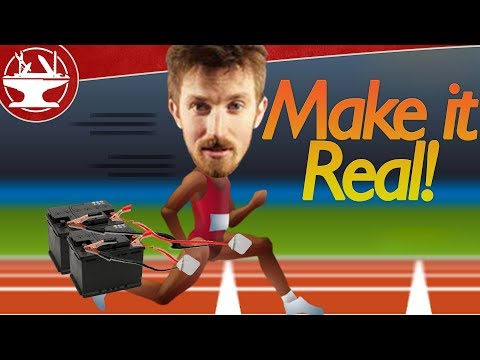 Can You Control a Person With Electricity? (Real Life QWOP)