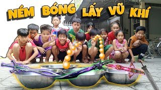 Tony | Thử Thách Ném Bóng Vào Rỗ Ăn Kiếm Nhật - Ping Pong Challenge