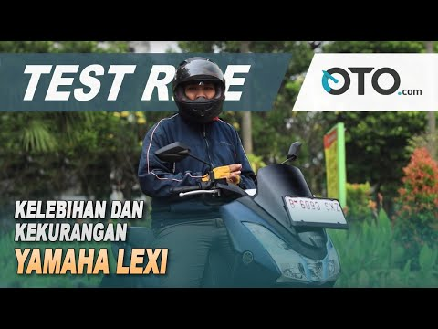 Yamaha Lexi 2018 | Test Ride | What are the advantages and disadvantages? | OTO.comAbrimos a urna eletrônica !!!