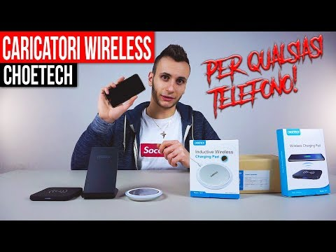 CHOETECH Caricabatterie Wireless Qi Rapido e Docking Station | Recensione