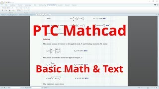 Complete Beginner's Guide to PTC Mathcad