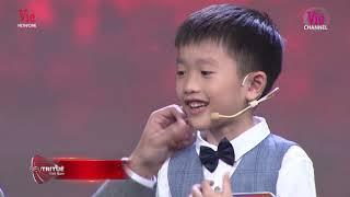 Cậu bé 7 tuổi nhớ 1.100 mảnh ghép bản đồ với 55 giây khiến Trấn Thành, Tóc Tiên ngỡ ngàng