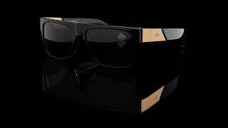 """9FIVE """"22"""" Black and 24K Gold"""