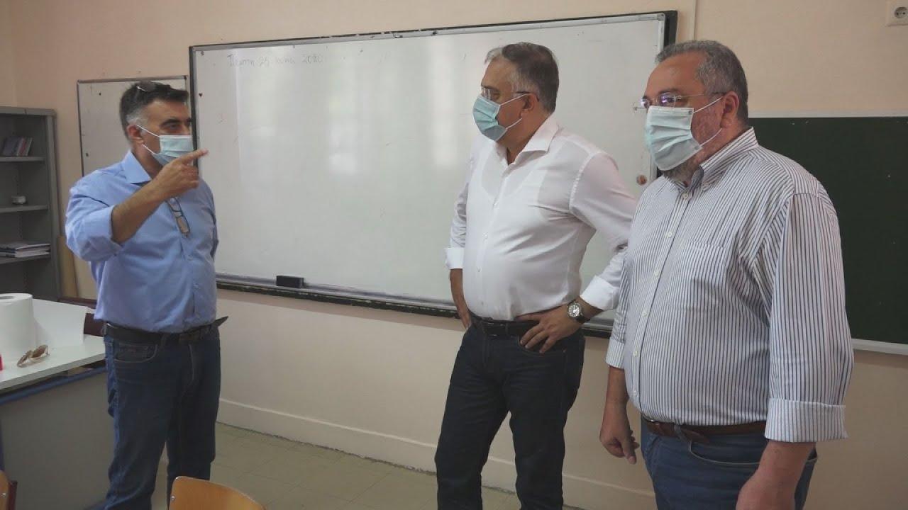 Επίσκεψη ΥΠΕΣ σε σχολείο της  Καισαριανής
