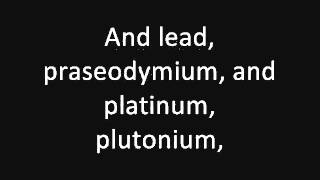 Tom Lehrer: The Elements (concert live) (1959)