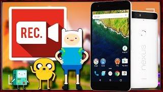 Запись видео с экрана Android в 1080p и 60fps
