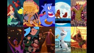 Soundtracks en español latino: Levanta ánimos de Disney (1989-2016)