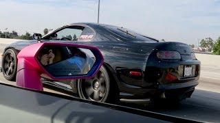 Toyota Supra vs. Lamborghini Huracan