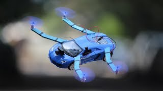 How To Make a Drone - quadcopter car