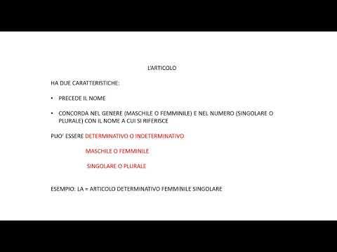Download L'ANALISI GRAMMATICALE HD Mp4 3GP Video and MP3