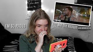 "Calum Scott: ""You Are The Reason"" Music Video REACTION | Olivia Rena"