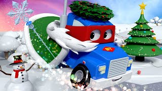 Videa s náklaďáky pro děti - Starouš Herbie nenávidí Vánoce