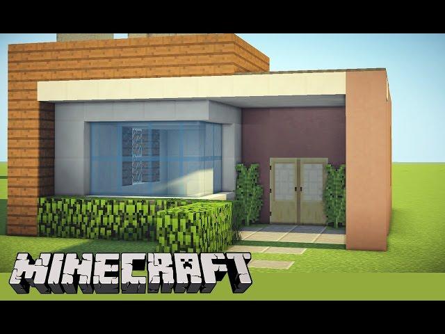 Minecraft design casa moderna 2 20 interior design details for Casa moderna sketchup download