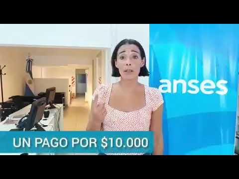 Sigue la inscripción para los $10.000 de ayuda del Gobierno: lo explica la titular de Anses La Plata en un video