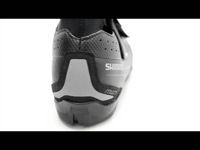 Видео Велотуфли Shimano SH-MW701 черные