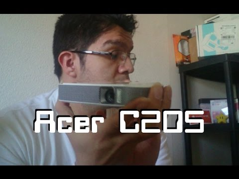 Proyector LED Acer C205 - Unboxing