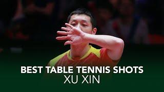 Insane Table Tennis Shots from Xu Xin 🇨🇳