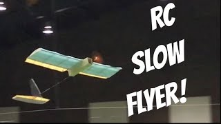 "Scratchbuilt 30"" Ultralight RC Slow Flyer! - Build And Maiden Flight!"