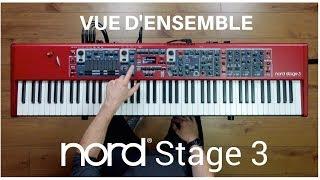 Nord Stage 3  88 - Clavier de scène 88 touches  - Video