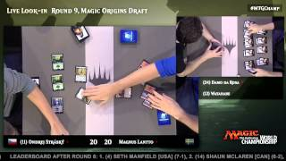2015 Magic World Championship Round 9 (Draft): Paulo Vitor Damo Da Rosa vs. Yuuya Watanabe