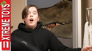 We're Not Scared of Dinosaurs! Sneak Attack Squad VS Jurassic Park Aftermath!