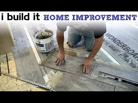Laying Ceramic Floor Tile