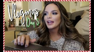 An actual day in my life.. VLOGMAS DAY 5 | Casey Holmes Vlogs