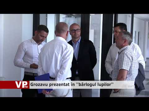 """Grozavu prezentat în """"bârlogul lupilor"""""""