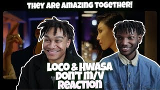Loco, Hwasa (MAMAMOO)   Don't (Above Live)   REACTION