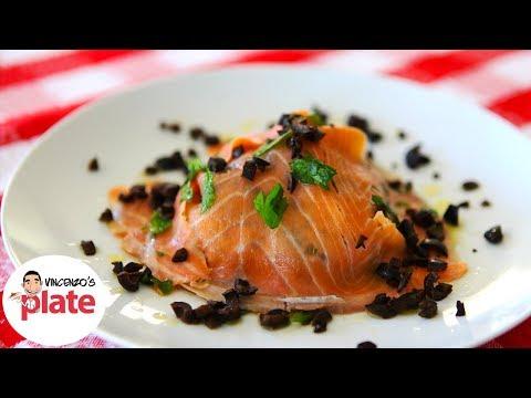 SMOKED SALMON SALAD | Smoked Salmon Recipe | Healthy Italian Food Recipes