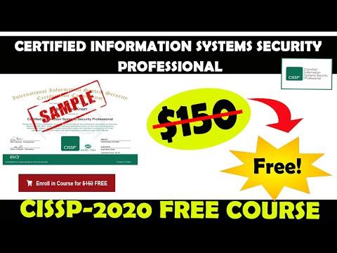 CISSP 2020 | Free CISSP Online Course | CISSP Free Training |100 ...