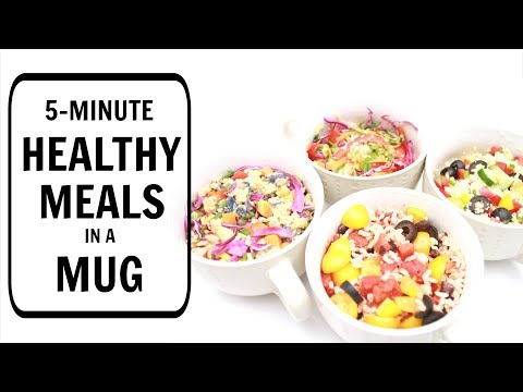 Video 5-Minute Meals in a Mug for Students (Healthy Recipes) | Joanna Soh