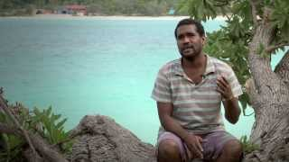 preview picture of video 'Luecilia Beach, Lifou, NEW CALEDONIA'