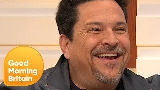WATCH: Dom Joly tells us about his 'transitioning' rescue pig Wilbur